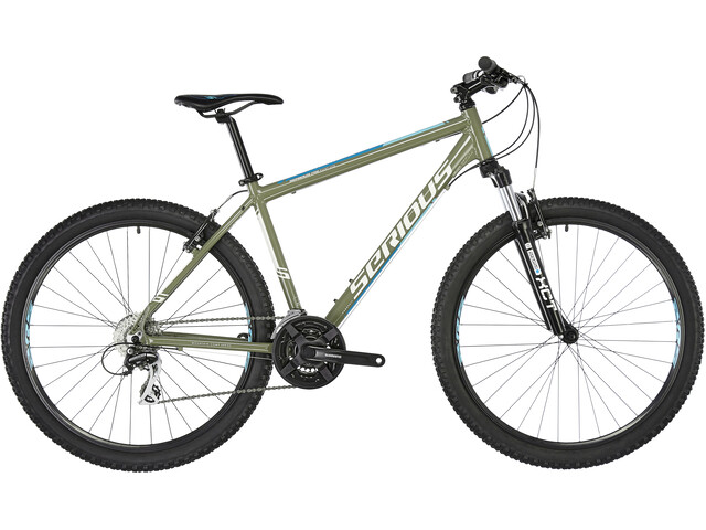 "Serious Eight Ball MTB Hardtail 27,5"", olijfgroen/blauw"